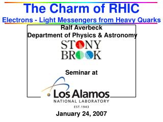 The Charm of RHIC Electrons - Light Messengers from Heavy Quarks