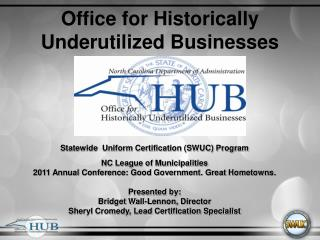 Office for Historically Underutilized Businesses