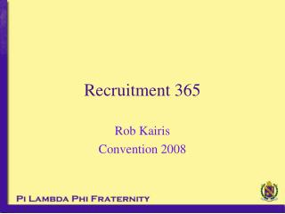 Recruitment 365