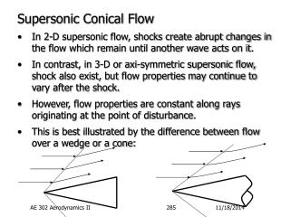 Supersonic Conical Flow