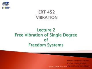 Lecture 2 Free Vibration of Single Degree  of  Freedom Systems