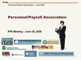 Personnel/Payroll Association