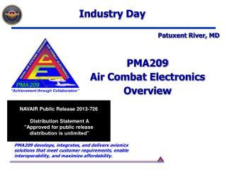 PMA209 Air Combat Electronics Overview