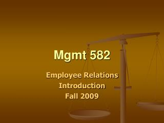 Mgmt 582