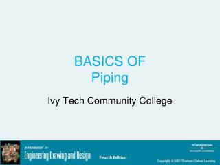 BASICS OF Piping