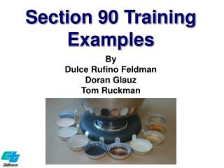 Section 90 Training Examples