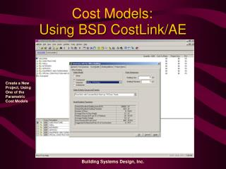 Using BSD CostLink/AE