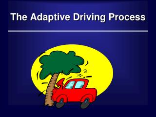 The Adaptive Driving Process