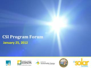CSI Program Forum