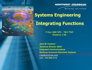 Systems Engineering  Integrating Functions