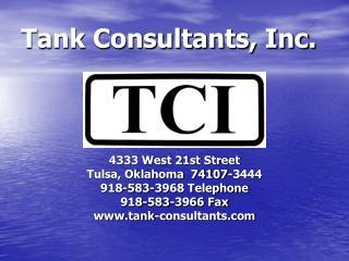 Tank Consultants, Inc.