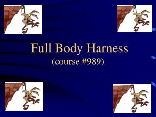 Full Body Harness  (course #989)