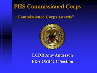 "PHS Commissioned Corps ""Commissioned Corps Awards"""