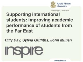 Supporting international students: improving academic performance of students from the Far East