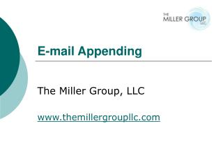 E-mail Appending