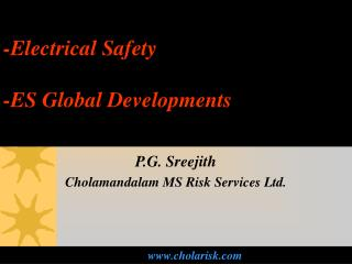 -Electrical Safety -ES Global Developments