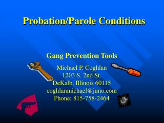 Probation/Parole Conditions