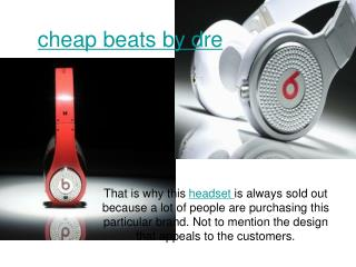 cheap beats by dre