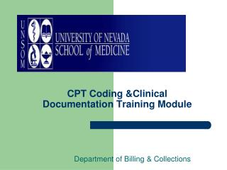 CPT Coding Clinical Documentation Training Module