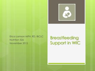 Breastfeeding Support in WIC