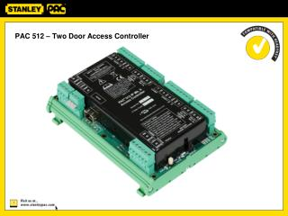 PAC 512 – Two Door Access Controller