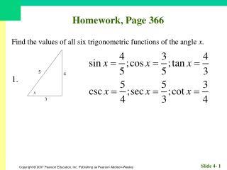 Homework, Page 366