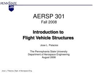 AERSP 301  Fall 2008
