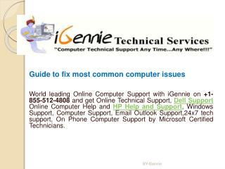 Guide to fix most common computer issues