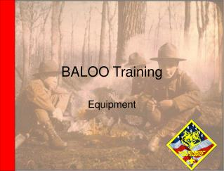 BALOO Training