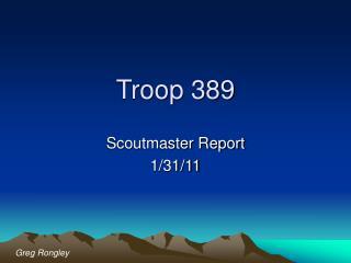 Troop 389