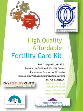 High Quality Affordable  Fertility Care Kit