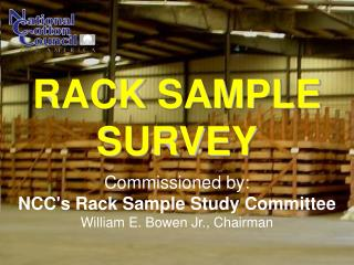 RACK SAMPLE SURVEY