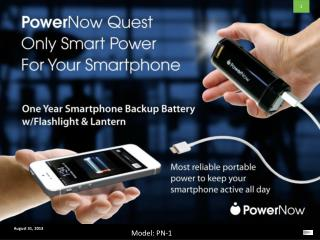 PowerNow Only Smart Power