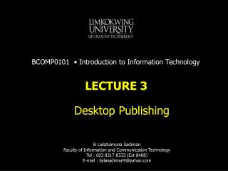 What is DTP (Desktop Publishing) ?