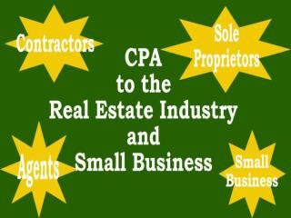 Tax Information for Real Estate Agents