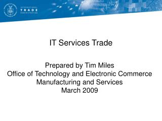 IT Services Trade