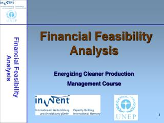 Financial Feasibility Analysis Energizing Cleaner Production Management Course