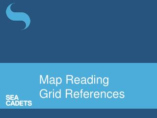 Map Reading Grid References