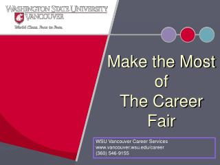 Make the Most  of  The Career Fair