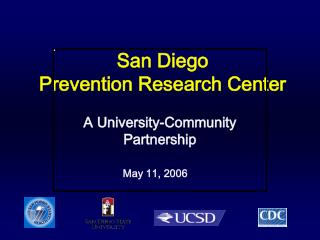 San Diego Prevention Research Center