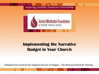 Inspiring Faithful Financial Stewardship