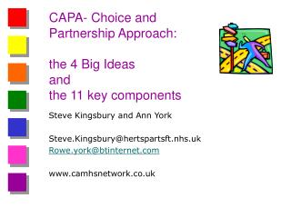 CAPA- Choice and Partnership Approach: the 4 Big Ideas  and  the 11 key components
