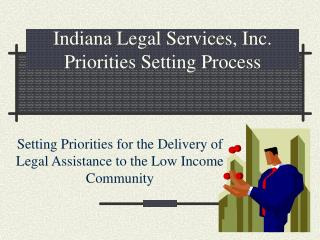 Indiana Legal Services, Inc. Priorities Setting Process