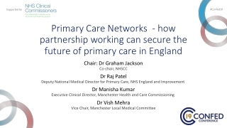 What can the primary care research network offer practices