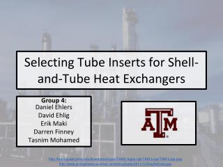 Selecting Tube Inserts for Shell-and-Tube Heat Exchangers