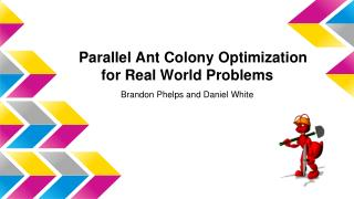 Parallel Ant Colony Optimization for Real World Problems