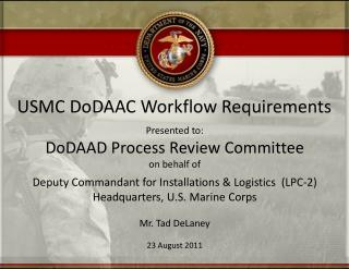 USMC DoDAAC Workflow Requirements