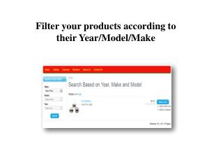 Product Parts Finder Magento Module by FMEExtensions