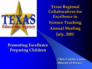 Promoting Excellence Preparing Children