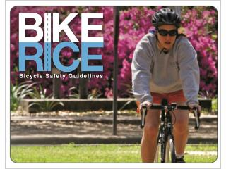 Bicycle Safety Guidelines